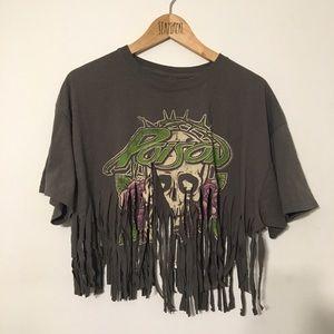 Vintage Poison band rock rap merch t shirt